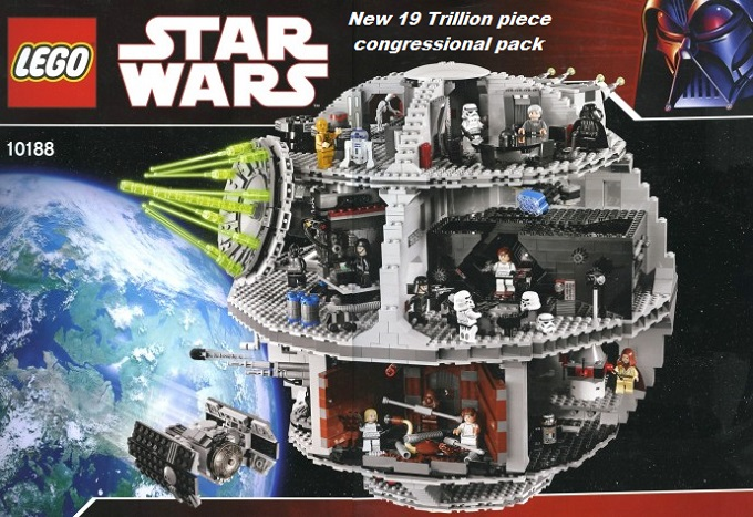 Lego Star Wars 19 Trillion piece
