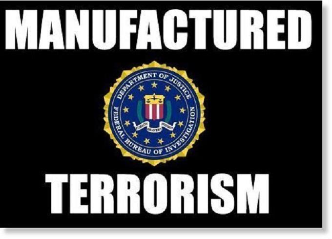 Manufactured terrorism