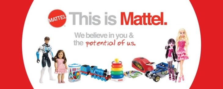 Mattel ~ America ~ We believe in you