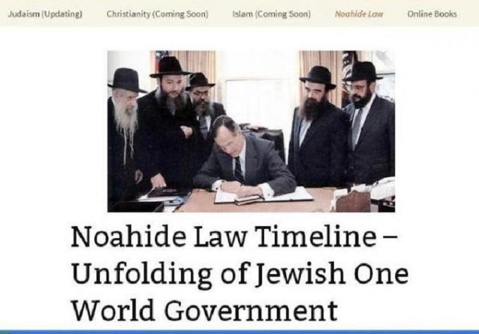Noahide Law Zion Jew Rabbi