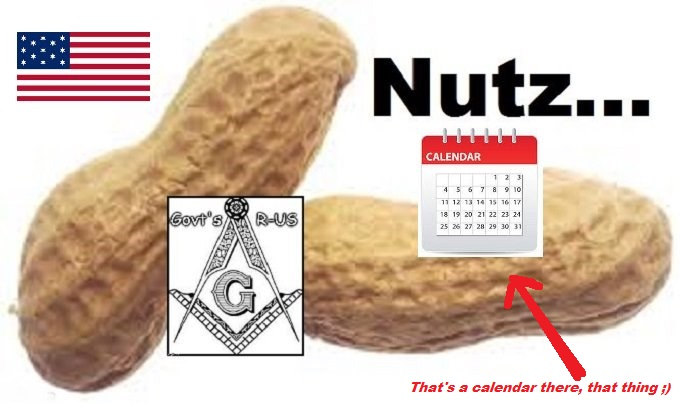 Nuts Nutz American Flag Calendar THAT THING