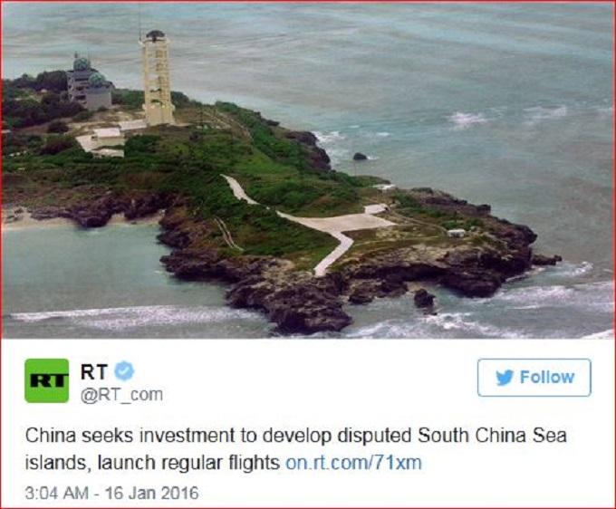 RE South China Sea Island