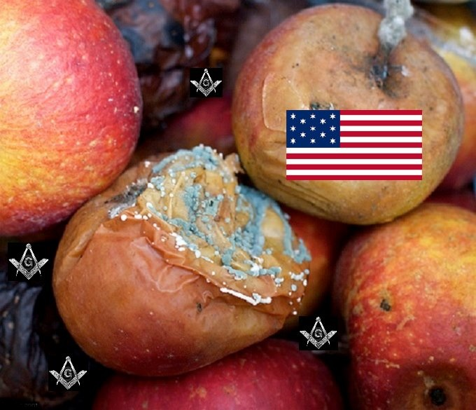 Rotten Apples Mason made in America