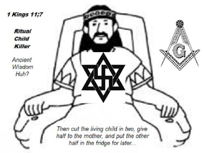 Solomon ancient wisdom Huh Mason Swastika