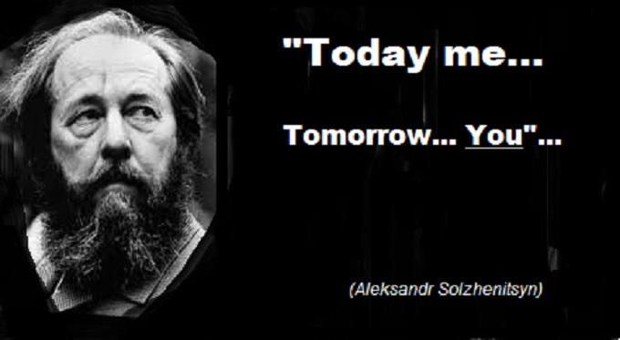 Solzhenitsyn ~ Today me