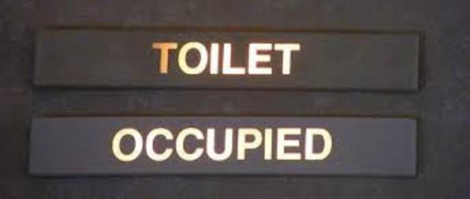 Toilet occupied