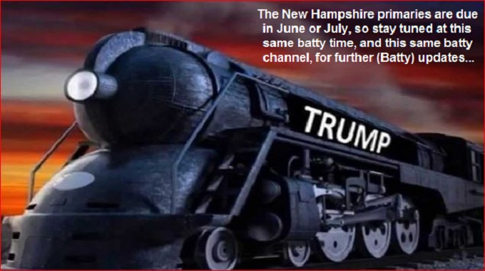 Trump Steram or Hot Air 'BATTY' engine
