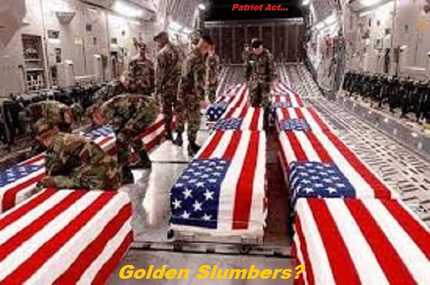 WHACK ~ US ARMY COFFINS Golden Slumbers