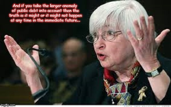 Yellen might or might not happen