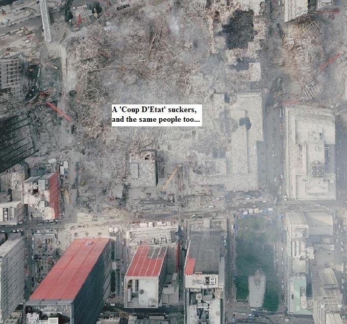 911 attack sky shot ~ Coup D'Etat