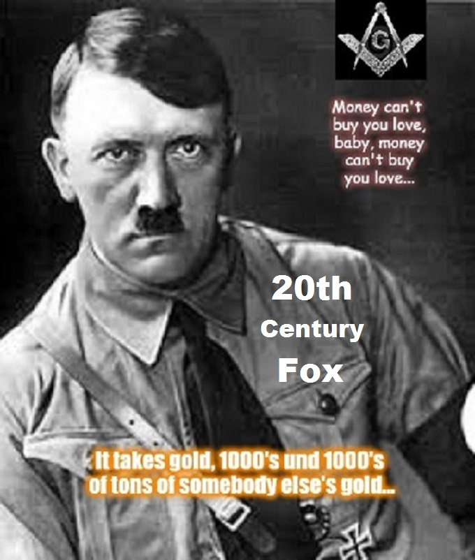 Adolf Hitler Masons 20th Century Fox