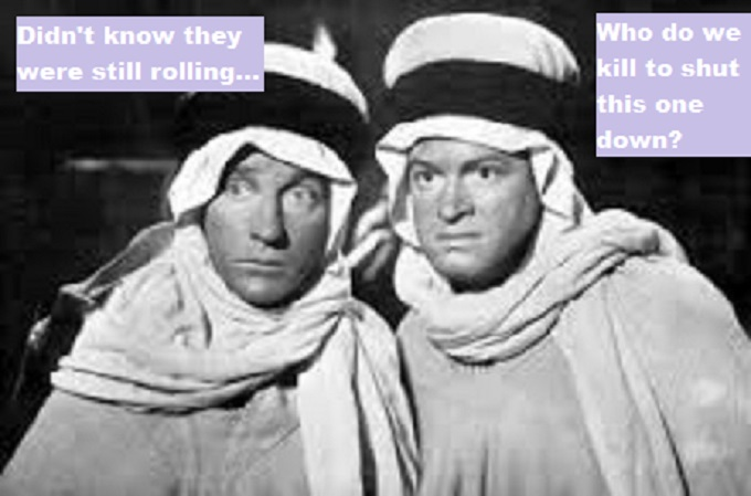 Bob Hope and Bing Crosby ~ The road to Kabul