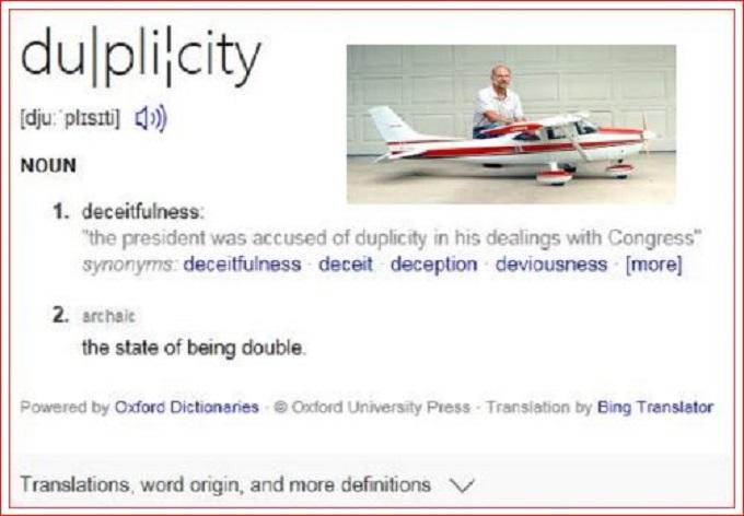 Duplicity Cessna