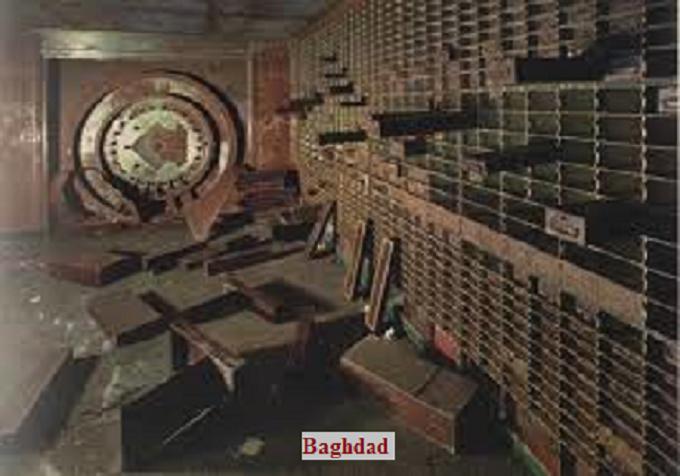Empty Vault Baghdad
