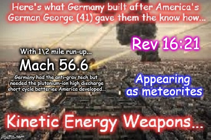 Germany's kinetic-energy weapons