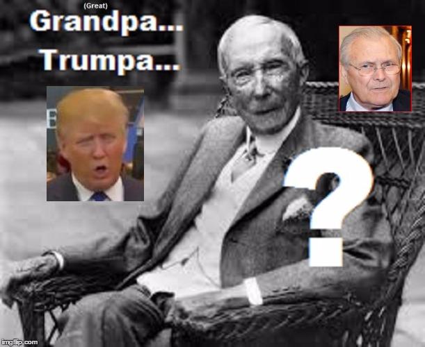 Grandpa Trump Rumsfeld