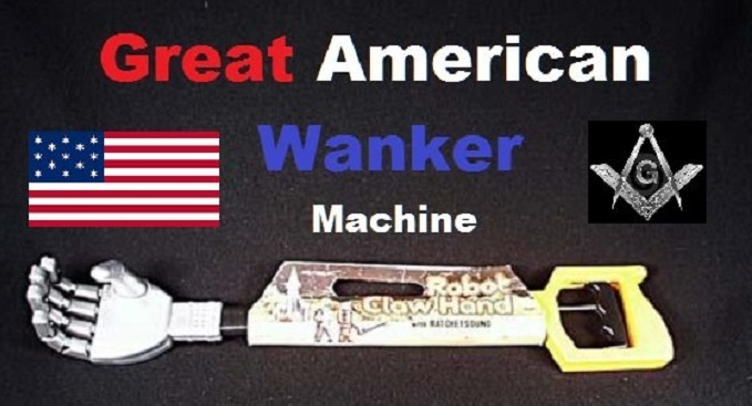 Great American MASON Wanker Machine CROP