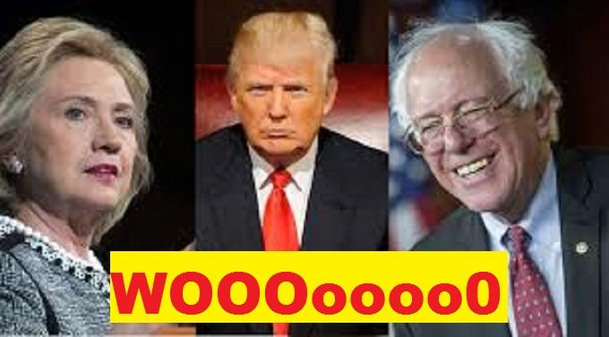 Hillery Trump Sanders WOO