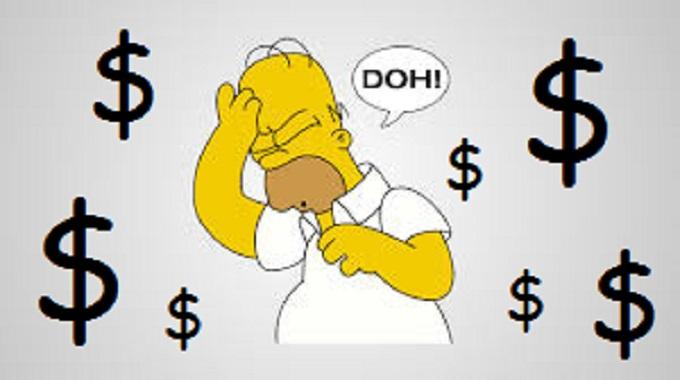 Homer Doh Dollars