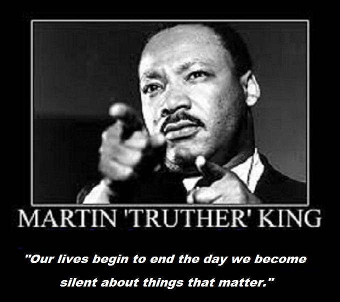Martin Truther King ~ Silen life ends