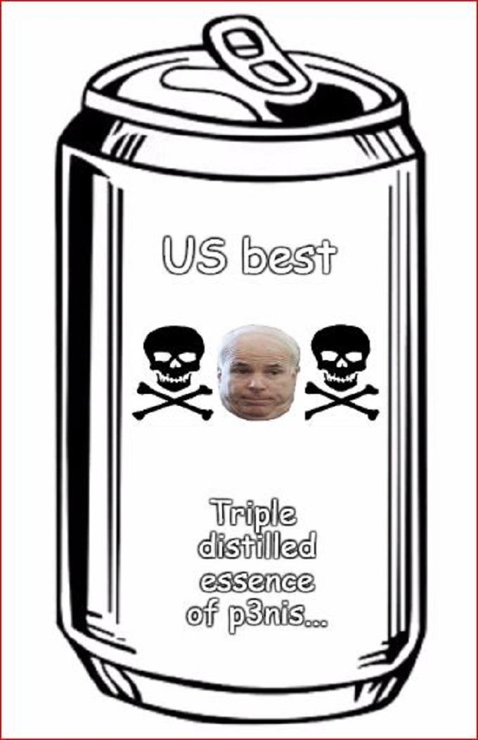McCain distilled penis 680
