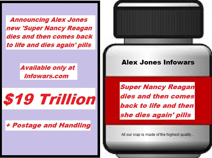 NANCY REAGAN Infowars pills