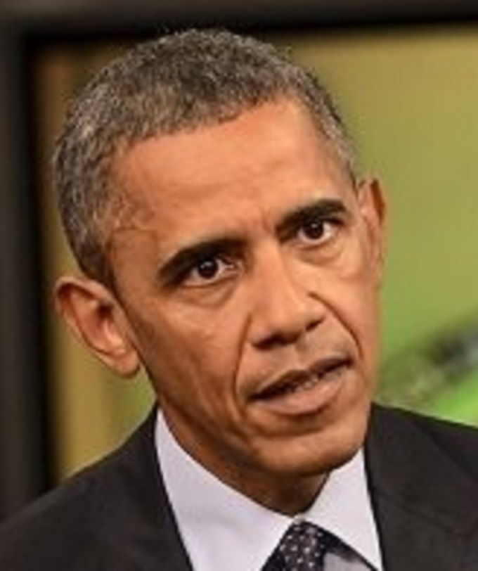 Obama HEAD Scared