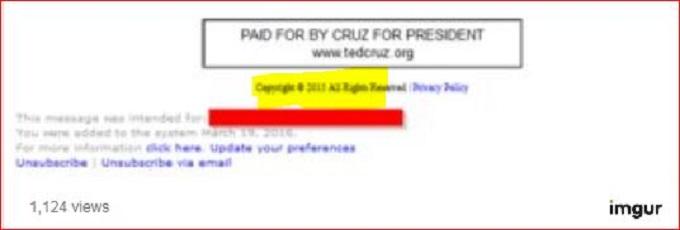 Paid For by Cruz screenshot