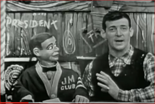 President Howdy Doody with Ted Cruz's Cuban uncle