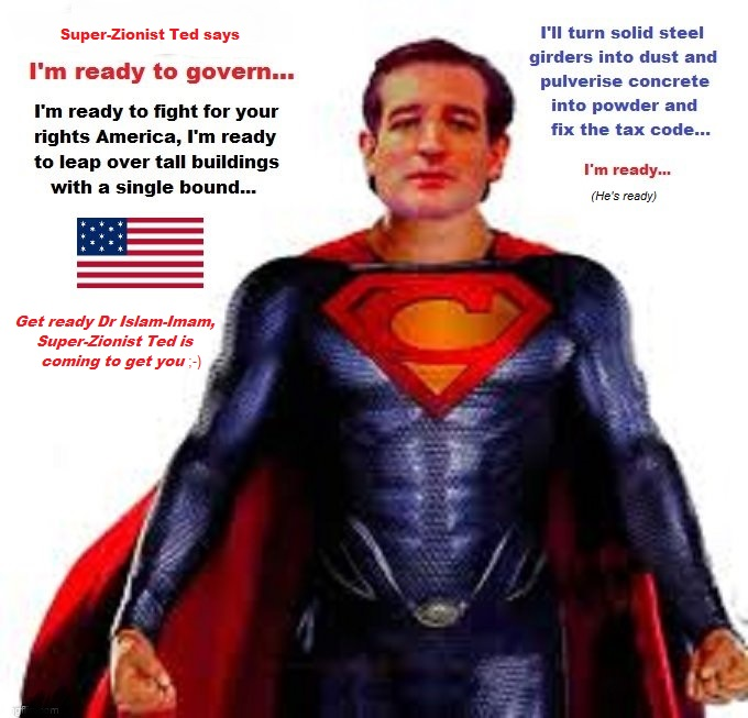 Super-Zionist Ted