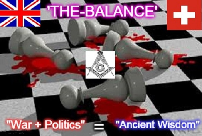THE BALANCE ~ MASONIC CHESS ~