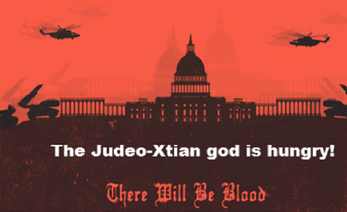 The Judeo-Xtian god is hungry