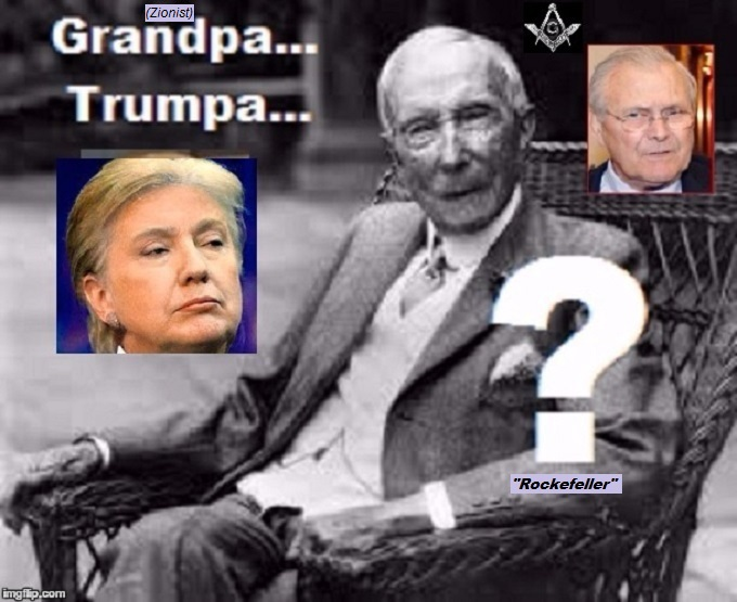 TRump Clinton Rockefeller Rumsfeld ROCKEFELLER (2)