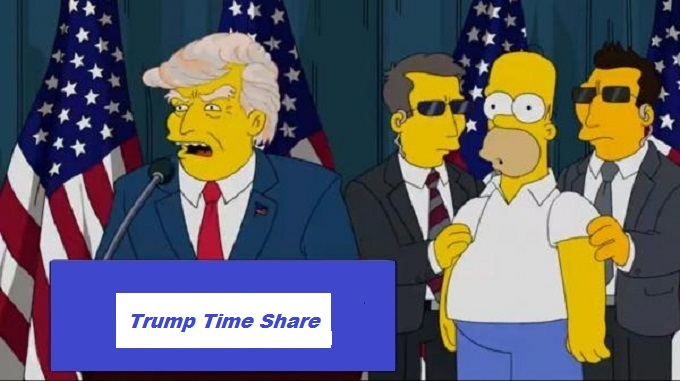 Trump election Homer Trump Time Share