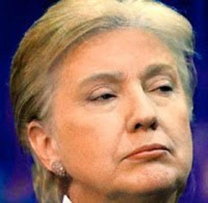 Trump Hillary hair
