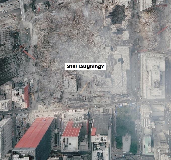 911 attack sky shot still laughing