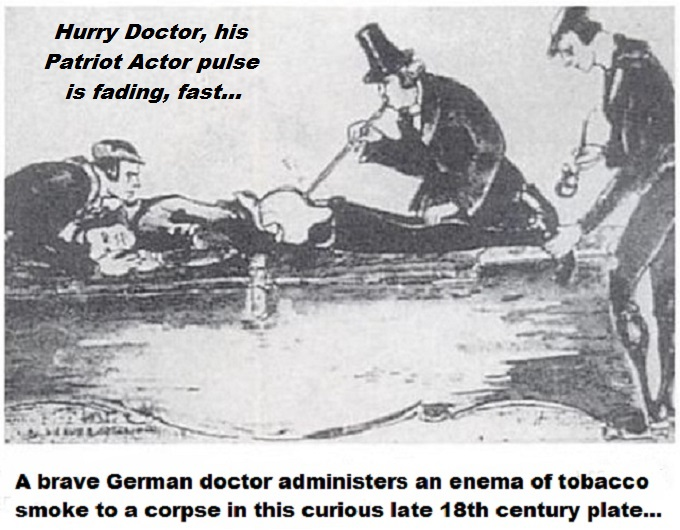 A brave German doctor RECUT CORPSE Patriot Actor pulse