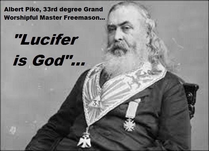 Albert Pike Lucifer is God