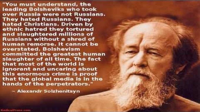 Alexsandr Solzhenitsyn non Russian Jews