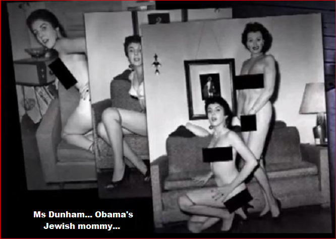 Ann Dunham Obama's Jewish mommy