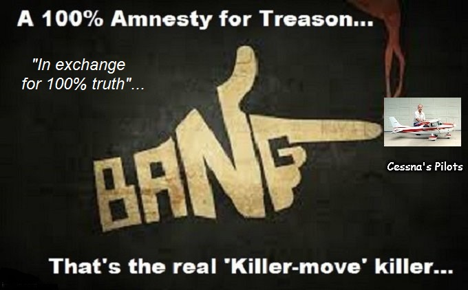 Bang Amnesty Cessna Pilots 100 percent truth