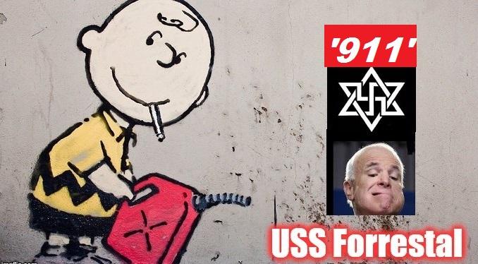Charlie Brown USS Forrestal