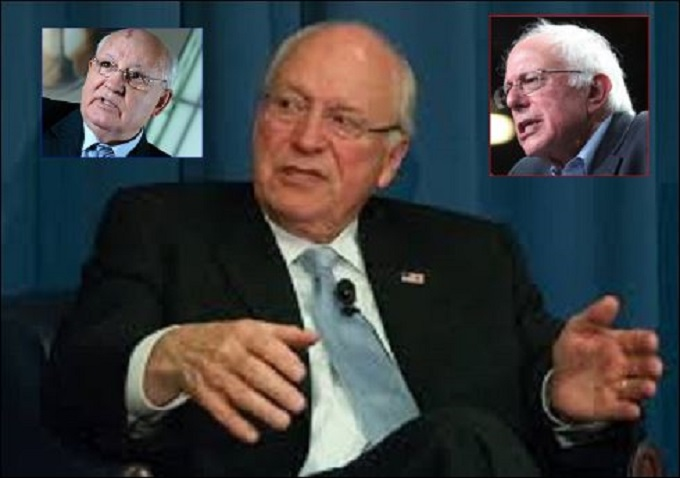 Cheney Gobachev and Sanders