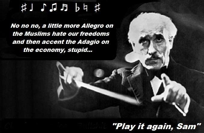 Conductor Play it again sam Muslim Terror economy