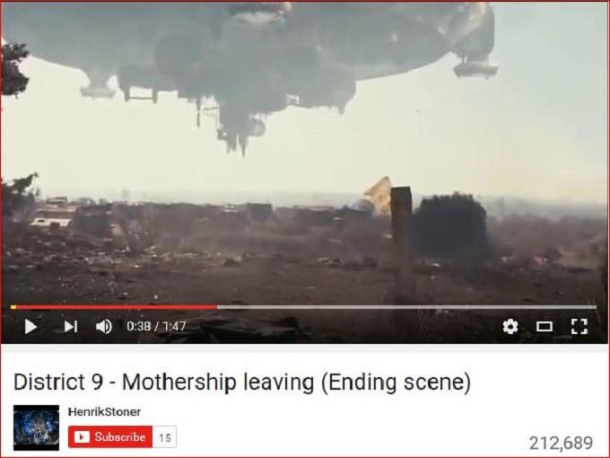 District 9 Final Flight scene