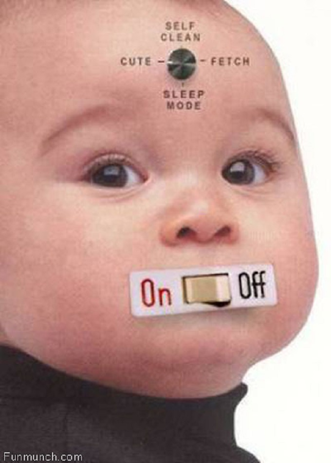 funny-baby on off switch