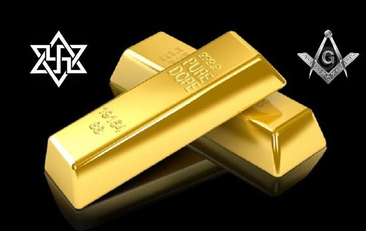 Gold Mason Nazi Zion