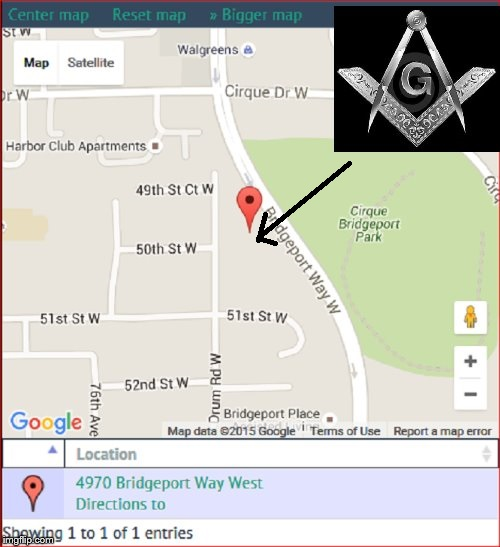 Google Map Grand Lodge Washington