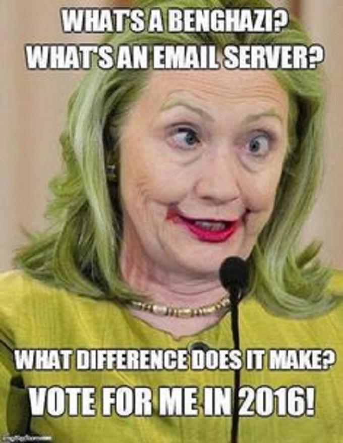 Hillary Gook vote me 2016
