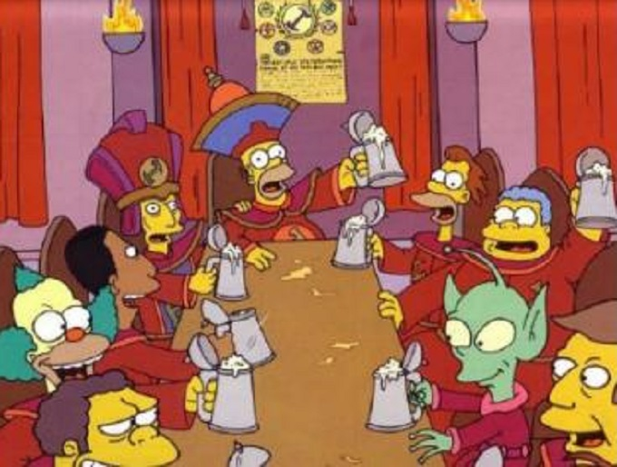 Homer Simpson Stonecutters